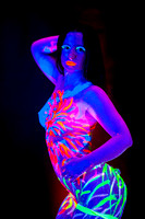Body Paint and Black Light