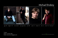 Michael Dillenger comp card back